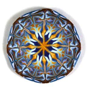 marbled kaleidoscope cane
