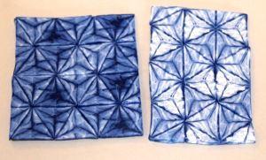 Polymer Clay Indigo Shibori