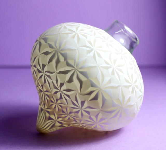 polymer clay lantern