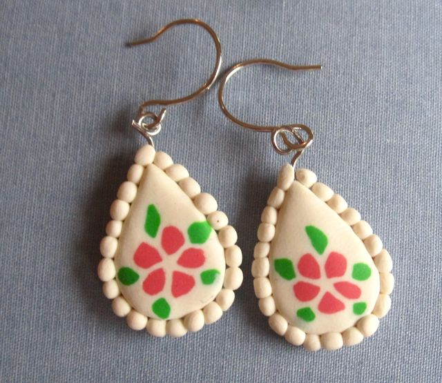 polymer clay earrings tutorial polymer clay workshop