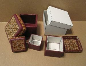 polymer clay nesting boxes 2