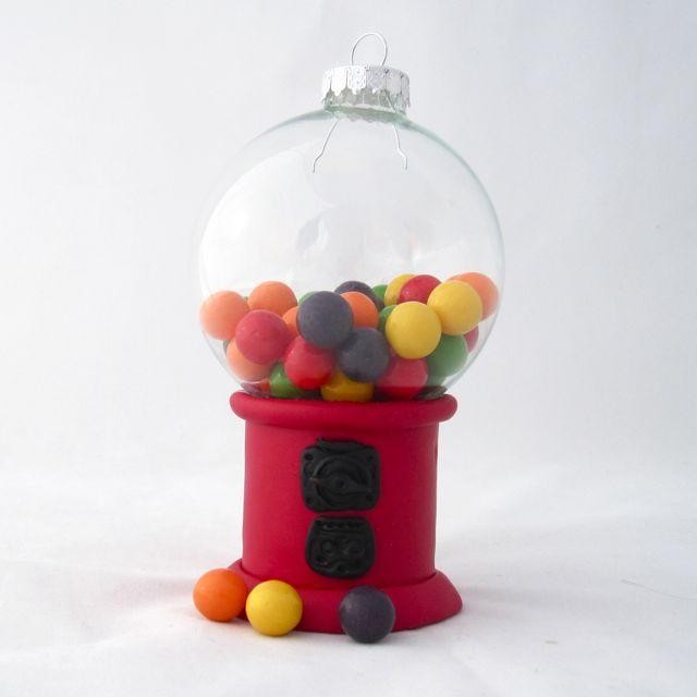 Diy Gum Ball Machine Ornament Tutorial Polymer Clay Workshop