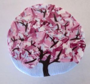 polymer clay cherry tree cane