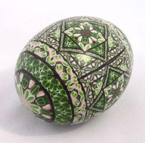 Tucson gem show polymer clay egg