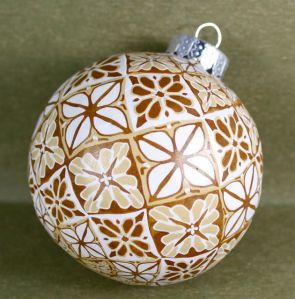 cane builder ornament