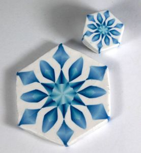 frosty blend snowflakes