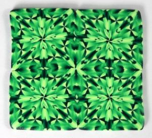 Magic green gemstone cane sheet