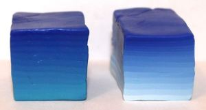 Polymer Clay blue Skinner blocks