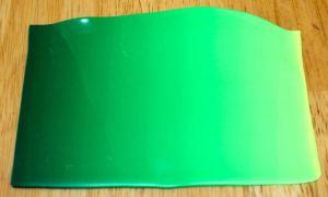 Polymer clay summer green blend 2