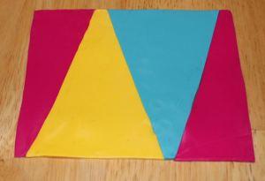Polymer clay rainbow color recepie