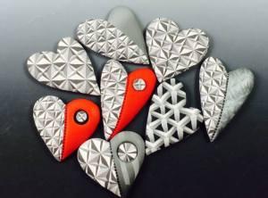 Ron Lehocky 3D hearts