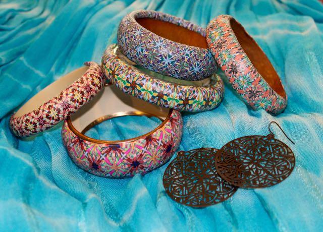Boho festival jewelry