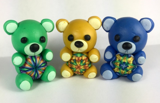 Jewel cane bears