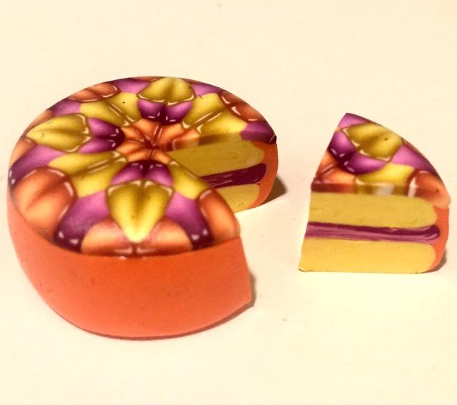 jewel cane cake