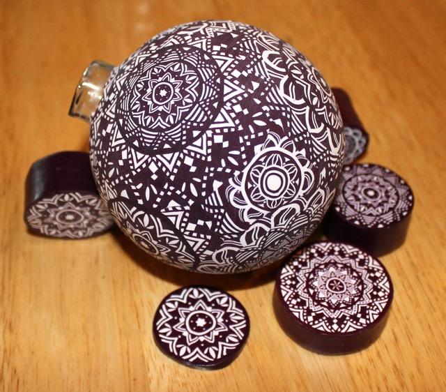 canework ornament
