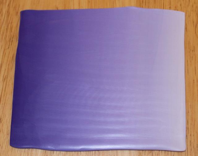 Polymer clay lilac blend