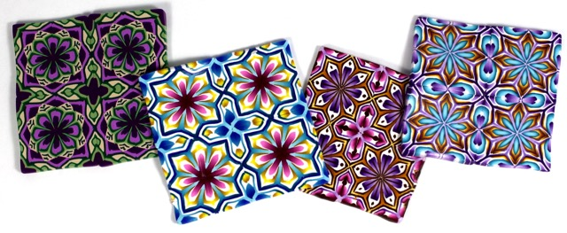 Cross and Starr Pattern Tiles