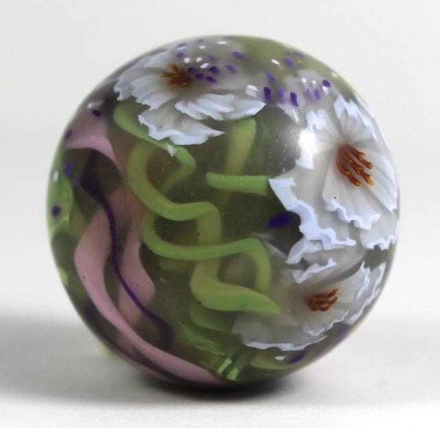 Glass-like polymer clay