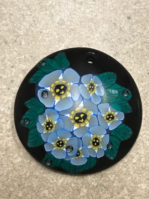 Peggy's blue flowers