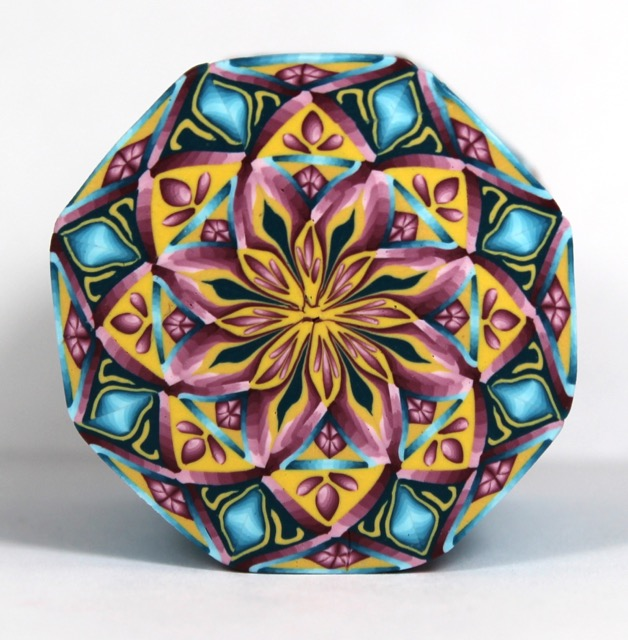 Polymer clay Kaleidoscope Cane Color Scheme