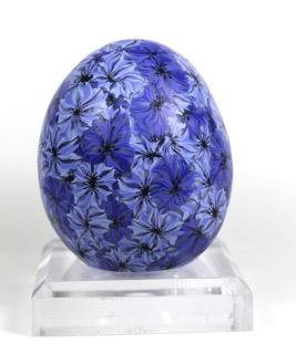 cornflower egg