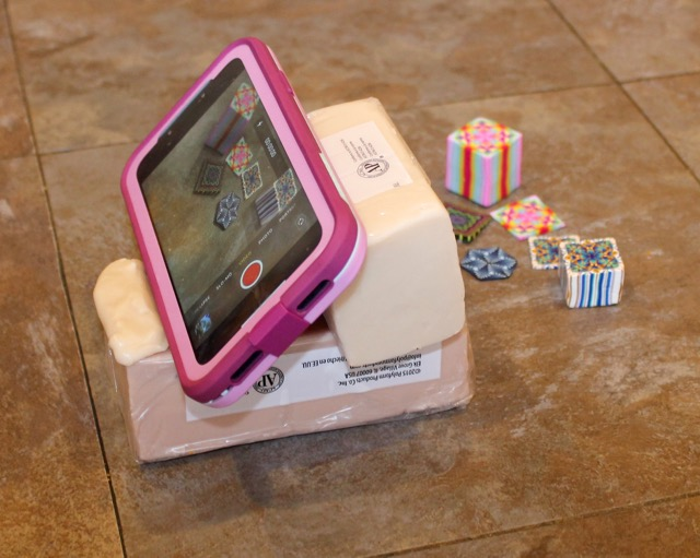 Polymer clay video making