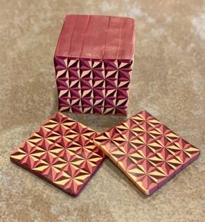 3D polymer clay star cane